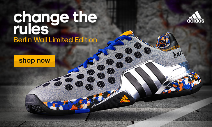 Adidas Barricade Berlin Wall Limited Edition
