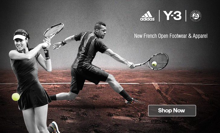 Adidas Y-3 Roland Garros 2015 Collection