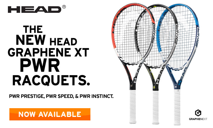 Head 2015 PWR Racquet Series