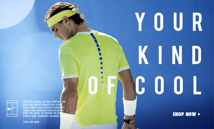 Nike Spring 2016 Tennis Apparel