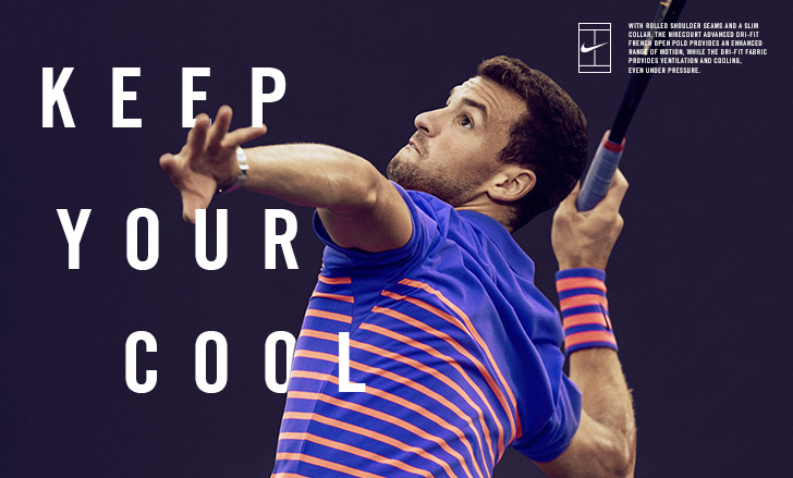 Nike Summer 2015 French Open Apparel