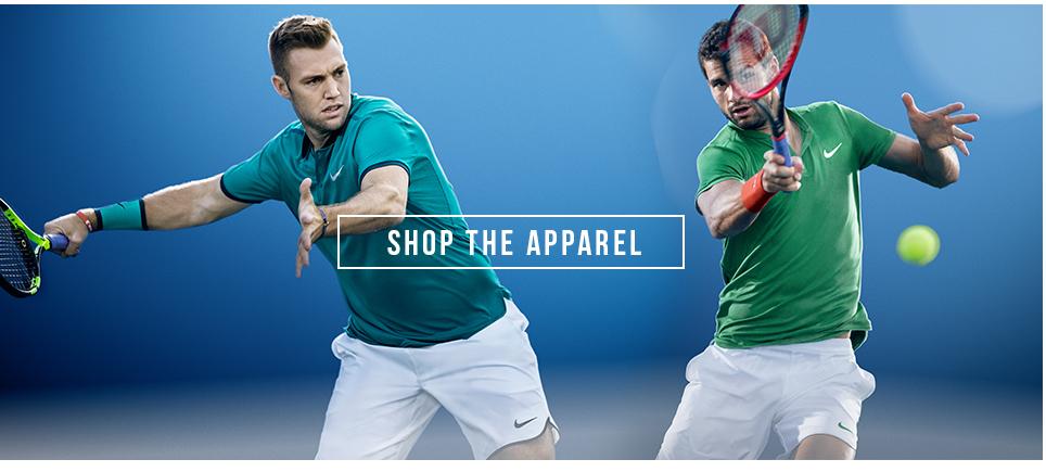tennis nike apparel