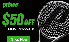Prince Racquets on Sale!