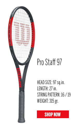 wilson 2017 pro staff tennis racquets tennis plaza. Black Bedroom Furniture Sets. Home Design Ideas