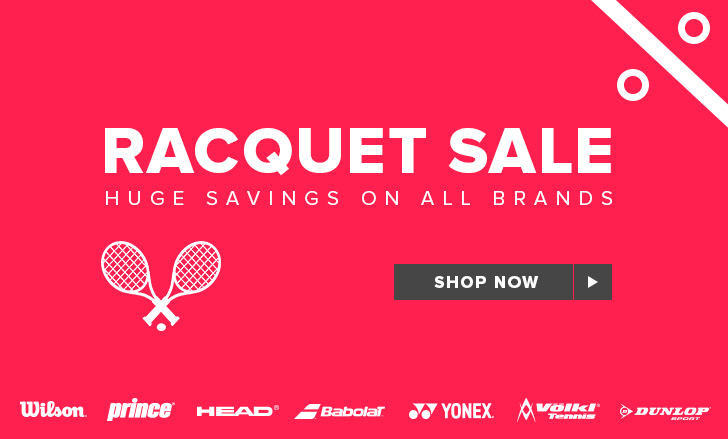Tennis Racquets Sale Event