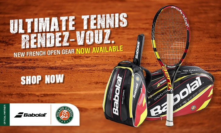 Babolat Roland Garros 2015 Products Available