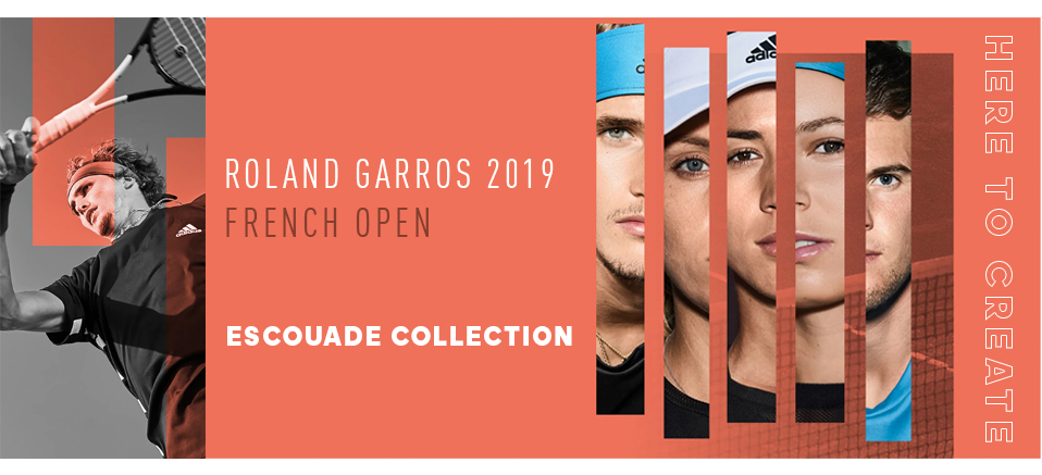 c13dec3cac Adidas Roland Garros 2019 French Open Collection | Tennis Plaza