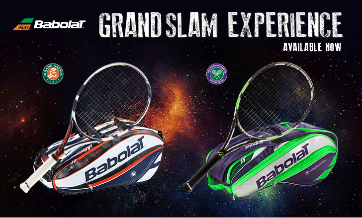 The Babolat Grand Slam Experience