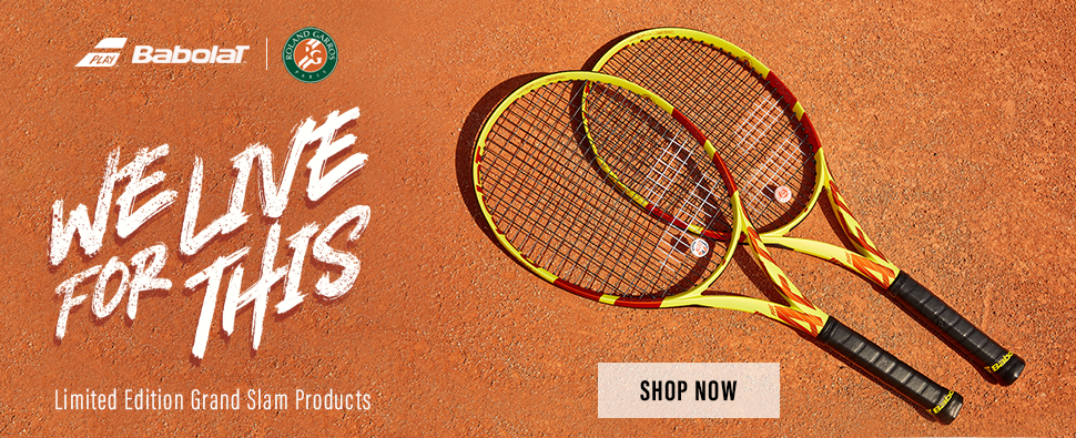 0c23c7680a2a Babolat Grand Slam Products  Wilson Bold Tennis Rackets ...