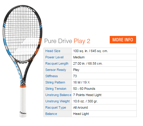 Babolat Pure Drive Play 2 Tennis Racquet