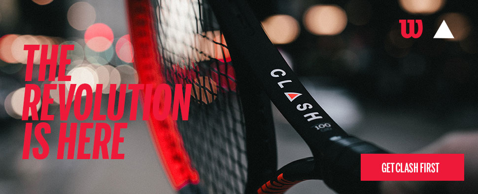 Wilson Clash Tennis Racket