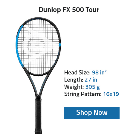 Dunlop FX 500 tour Tennis Racket