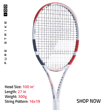 New Babolat Pure Strike 100 Tennis Racquet