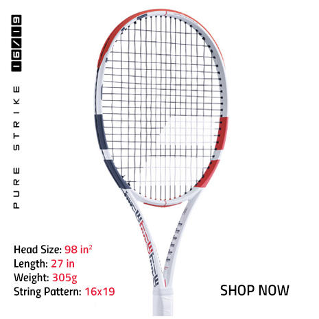 New Babolat Pure Strike 16x19 Tennis Racquet