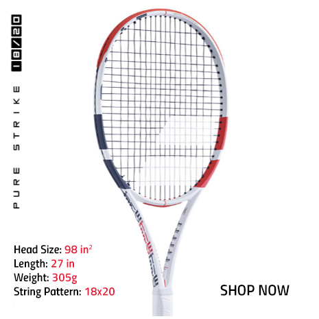 New Babolat Pure Strike 18x20 Tennis Racquet