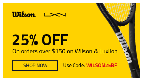 Wilson & Luxilon Black Friday!