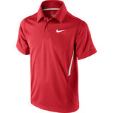 Nike Net UV S/S Boy`s Tennis Polo