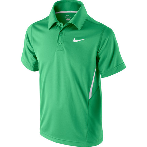 Nike Net Uv S/S Boy's Tennis Polo