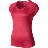 Nike Printed Miller V-Neck Women`s Top