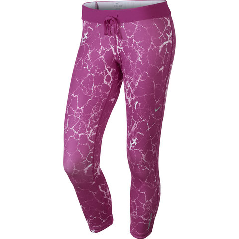 Nike Relay Print Crop Women's Capri