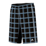 Adidas Sequencials Plaid Men`s Tennis Bermuda