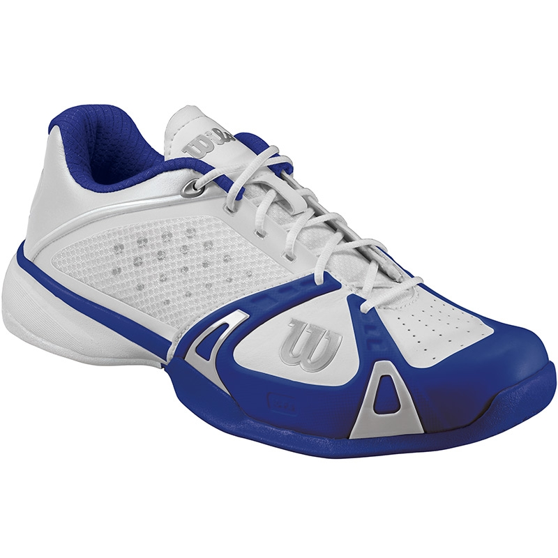 wilson pro s tennis shoes white cobalt ink