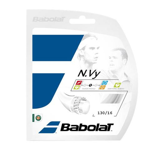 Babolat N.Vy 16 Tennis String Set - White