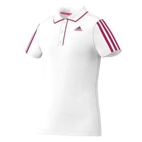 Adidas Response Traditional Girls Tennis Polo
