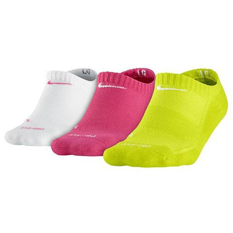 Nike 3 Pack Low Cut Girl's Tennis Socks