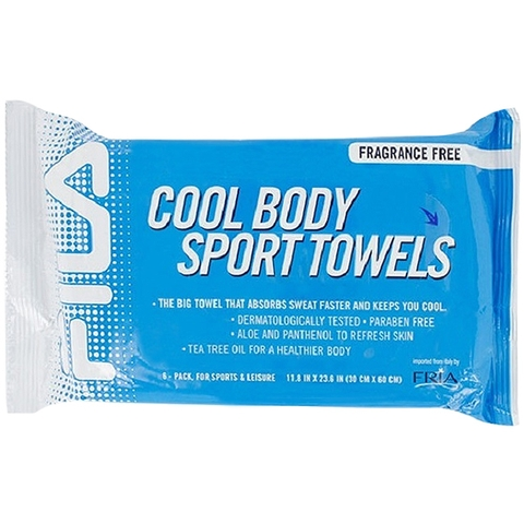 Fila Cool Body Sport Towel Six Pack