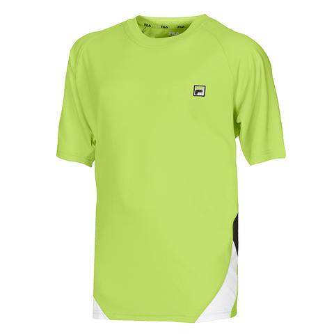 Fila Center Court Solid Boy's Tennis Tee