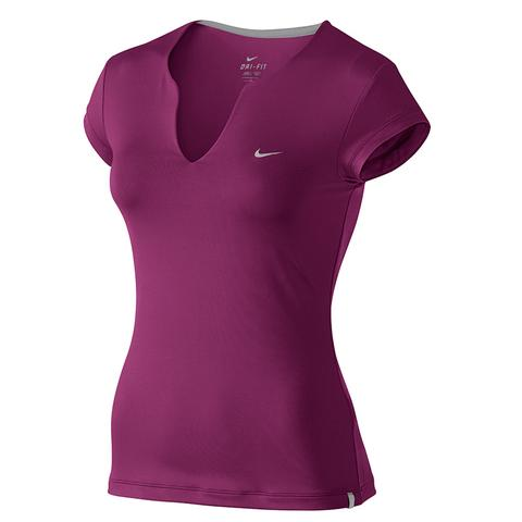 Nike Pure S/S Women's Tennis Top