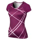 Nike UV Printed Knit Women`s Tennis Top