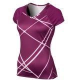 Nike UV Printed Knit Women`s Tennis Top