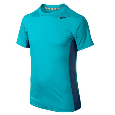 Nike Fly S/S Boy's Tennis Top