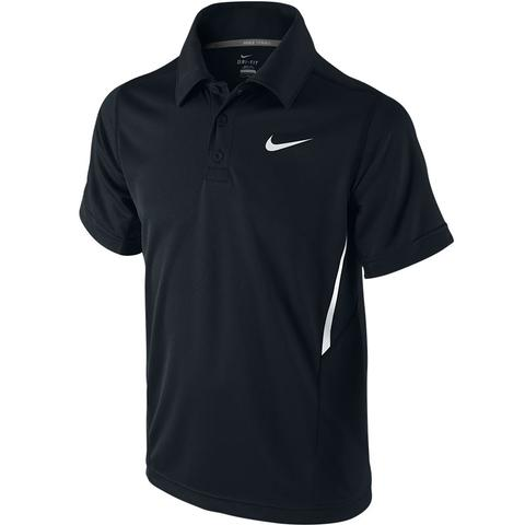 Nike Net Uv Ss Boys Tennis Polo