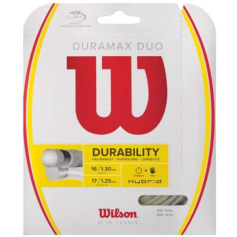 Wilson Duramax Duo 17/16 Tennis String Set