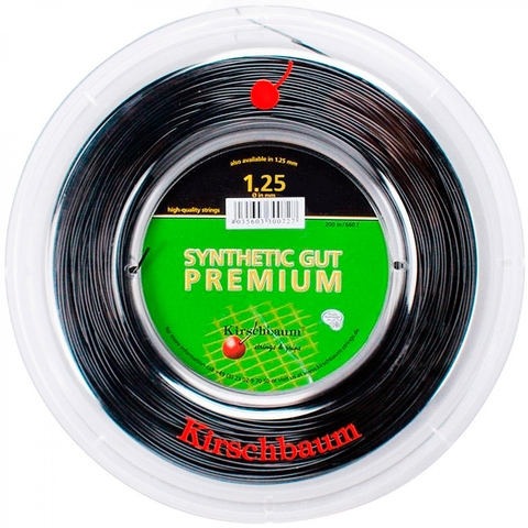 Kirschbaum Synthetic Gut Premium 1.25 Tennis String Reel