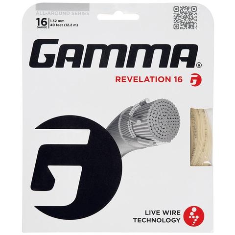 Gamma Revelation 16 Tennis String Set