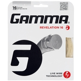 Gamma Revelation 16 Tennis String Set - Natural