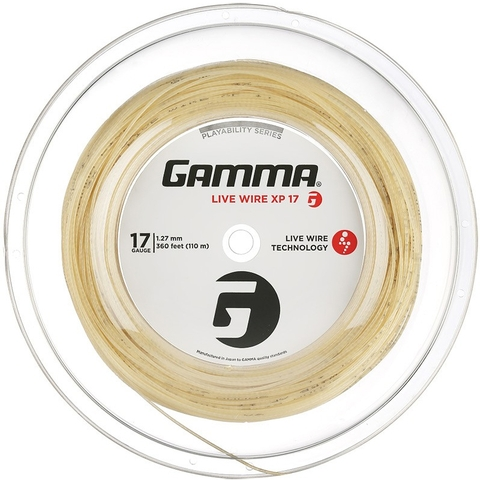 Gamma Live Wire Xp 17 Tennis String Reel
