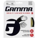 Gamma RZR Rx 17 / Live Wire 16 Tennis Hybrid String Set