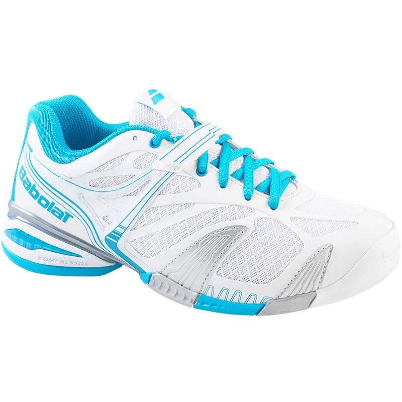 babolat propulse 4 s tennis shoe white blue