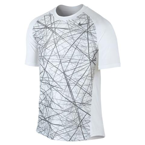 Nike Advantage Uv Gfx Men's Tennis Crew
