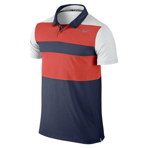 Nike Dri- Fit Touch Stripe Men's Tennis Polo