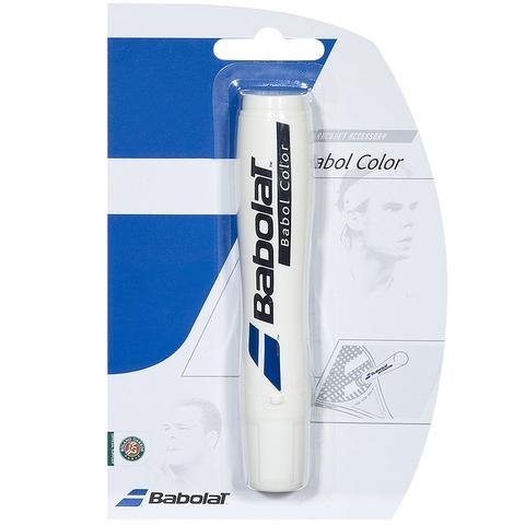 Babolat Tennis Stencil Ink - White