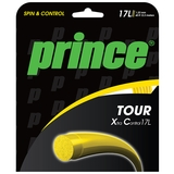 Prince Tour XC 17L Yellow Tennis String Set
