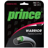 Prince Warrior Hybrid Control 16L/16 Tennis String Set