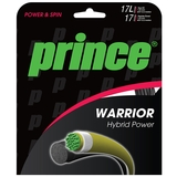 Prince Warrior Hybrid Power 17L/17 Yellow/Black Tennis String Set