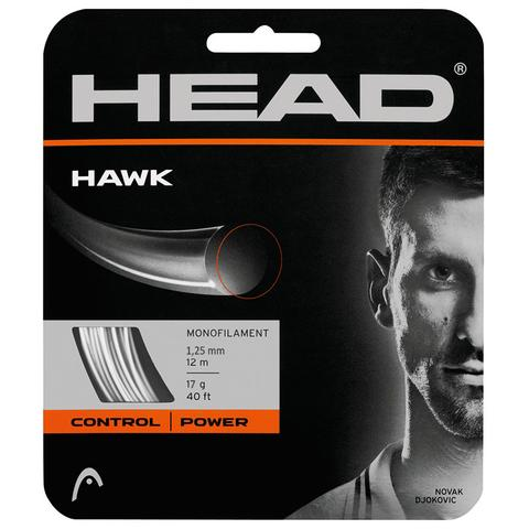 Head Hawk 17 Tennis String Set - White
